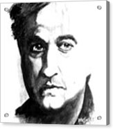 Brother In Blue - Belushi Acrylic Print