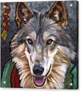 Brother Wolf Acrylic Print