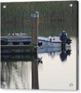 Broward Boat Acrylic Print