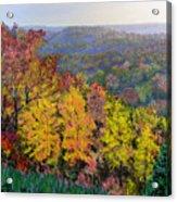 Brown County Vista Acrylic Print
