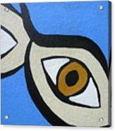 Brown Eyes Acrylic Print