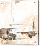 Brown Gray Abstract 12m4 Acrylic Print