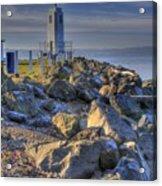 Browns Point Lighthouse Acrylic Print