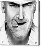 Bruce Campbell Acrylic Print