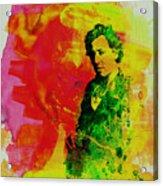 Bruce Springsteen Acrylic Print by Naxart Studio