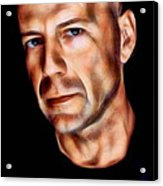 Bruce Willis Collection Acrylic Print