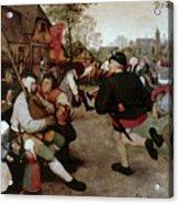 Bruegel, Peasant Dance Acrylic Print