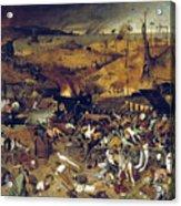 Bruegel: Triumph Of Death Acrylic Print