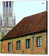 Bruges 18 Acrylic Print
