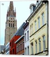 Bruges 3 Acrylic Print