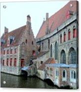 Bruges 4 Acrylic Print