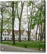 Bruges Begijnhof 1 Acrylic Print