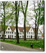 Bruges Begijnhof 2 Acrylic Print