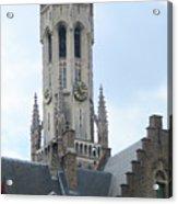 Bruges Belfry 6 Acrylic Print