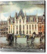 Bruges, Belgium Acrylic Print