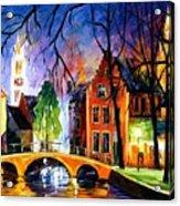 Bruges Belgium Acrylic Print