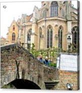 Bruges Bridge 3 Acrylic Print
