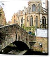 Bruges Bridge 4 Acrylic Print