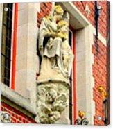 Bruges Detail 1 Acrylic Print