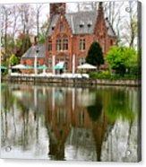 Bruges Kasteel Minnewater Acrylic Print