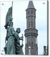 Bruges Markt 5 Acrylic Print