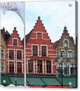 Bruges Markt 6 Acrylic Print
