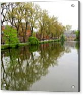 Bruges Minnewater 1 Acrylic Print