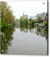 Bruges Minnewater 2 Acrylic Print