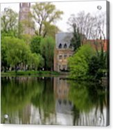 Bruges Minnewater 4 Acrylic Print