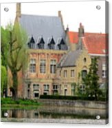 Bruges Sashuis 1 Acrylic Print