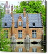 Bruges Sashuis 4 Acrylic Print