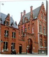 Bruges Sashuis 5 Acrylic Print