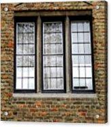 Bruges Window 3 Acrylic Print