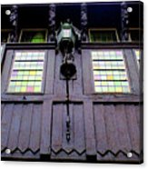 Bruges Window 5 Acrylic Print