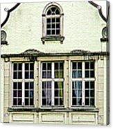 Bruges Window 8 Acrylic Print