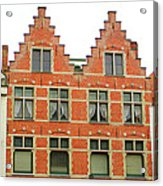 Bruges Window 9 Acrylic Print