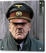 Bruno Ganz As Adolf Hitler Publicity Photo Number One Downfall 2004 Frame Added 2016 Acrylic Print