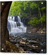 Brush Creek Falls II Acrylic Print