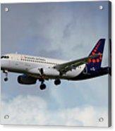 Brussels Airlines Sukhoi Superjet 100-95b Acrylic Print