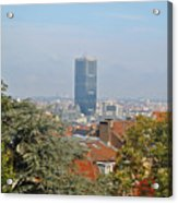 Brussels View Acrylic Print
