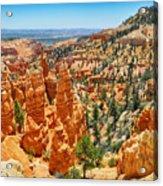 Bryce Canyon Fairyland Vista Acrylic Print