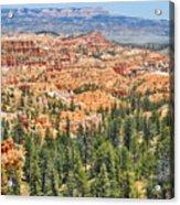 Bryce Canyon Fairyland Vista Point Acrylic Print