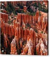 Bryce Canyon In Utah Acrylic Print