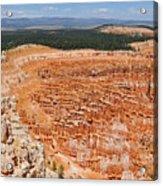 Bryce Canyon Inspiration Point Acrylic Print