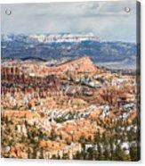 Bryce Canyon Looking Towards Aquarius Plateau   Acrylic Print