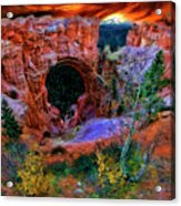 Bryce Canyon Natural Bridge Acrylic Print