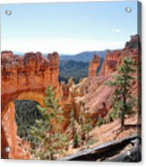Bryce Canyon Natural Bridge - Utah Acrylic Print