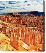 Bryce Canyon Overlook Acrylic Print