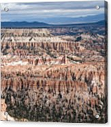 Bryce Canyon Overlook Acrylic Print