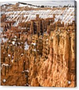 Bryce Canyon Winter Panorama - Bryce Canyon National Park - Utah Acrylic Print